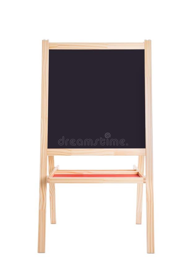 Blackboard odizolowywający z ścinek ścieżką nad bielem obrazy stock