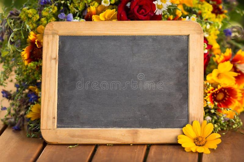 Blackboard puste miejsce zdjęcie royalty free