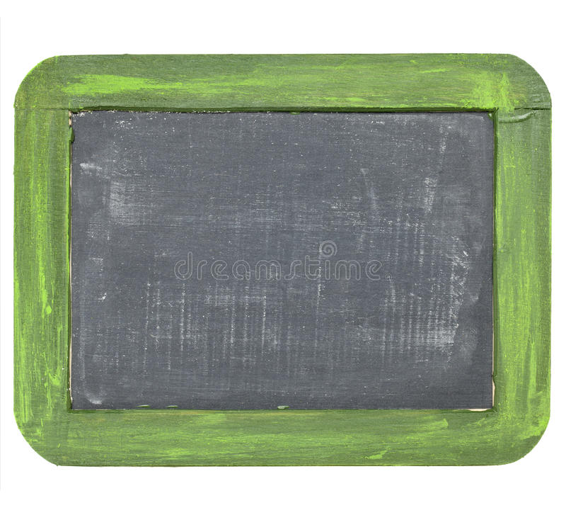blackboard pustego łupku rocznik obraz stock