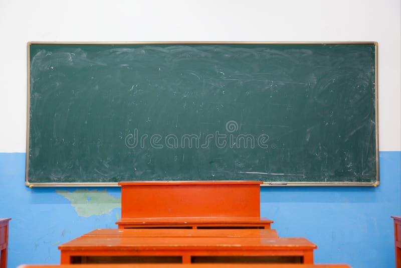 blackboard sala lekcyjna fotografia royalty free