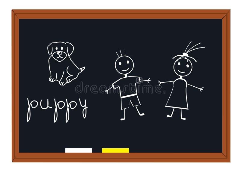 blackboard szkoła ilustracji