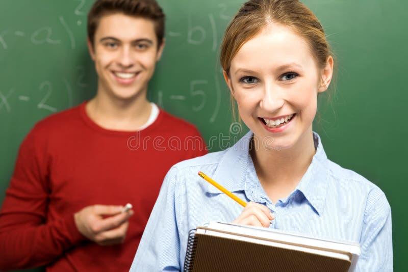 blackboard ucznie następni trwanie zdjęcie royalty free