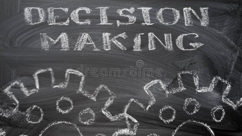 Decision making stock image