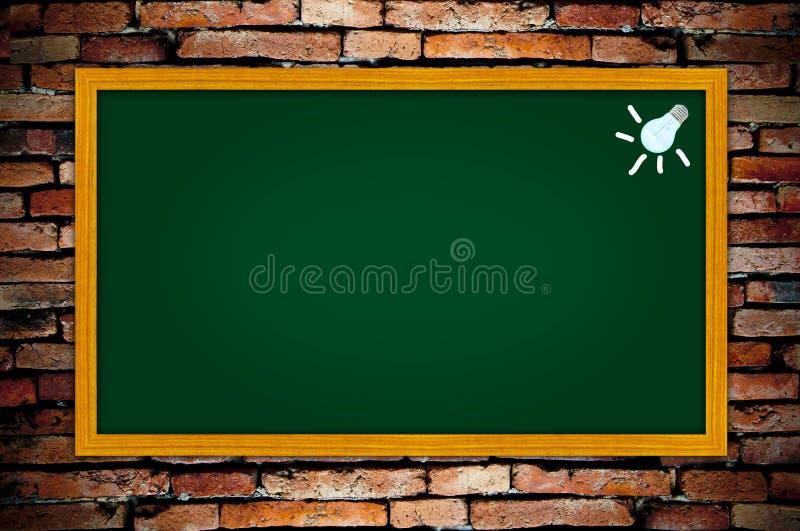 blackboard zieleń royalty ilustracja