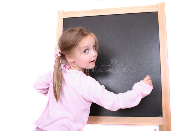 blackboardflicka royaltyfri bild