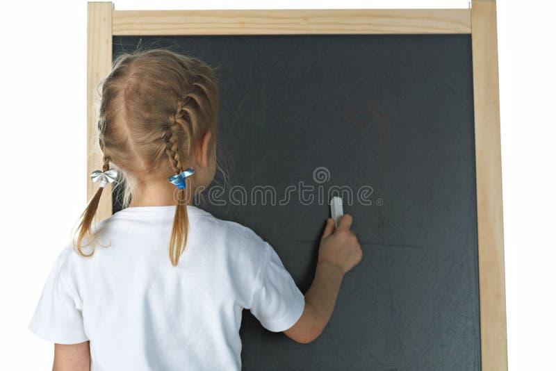 blackboardflicka little royaltyfri bild