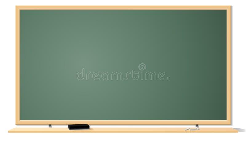 blackboardklassrum stock illustrationer