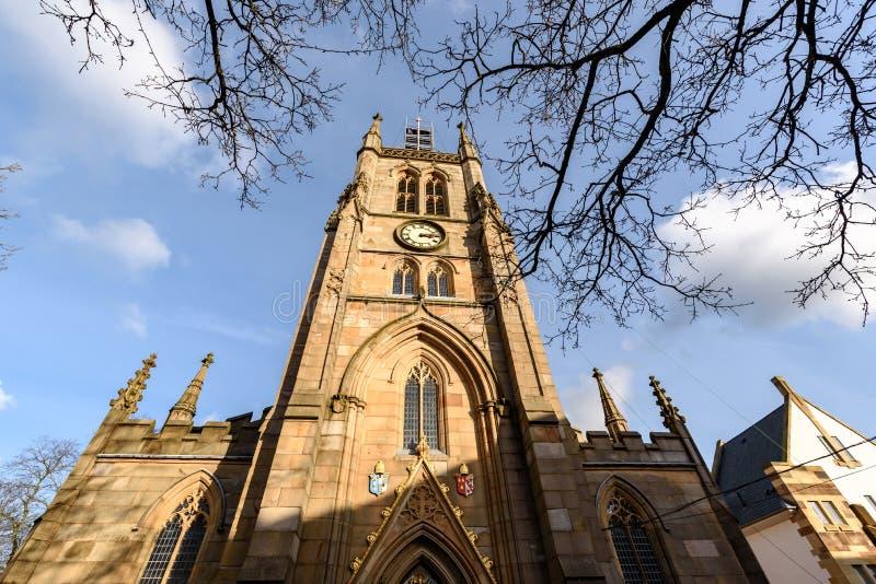 Blackburn Cathedral UK royaltyfria foton