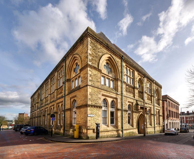 Blackburn museum och Art Gallery UK royaltyfri fotografi