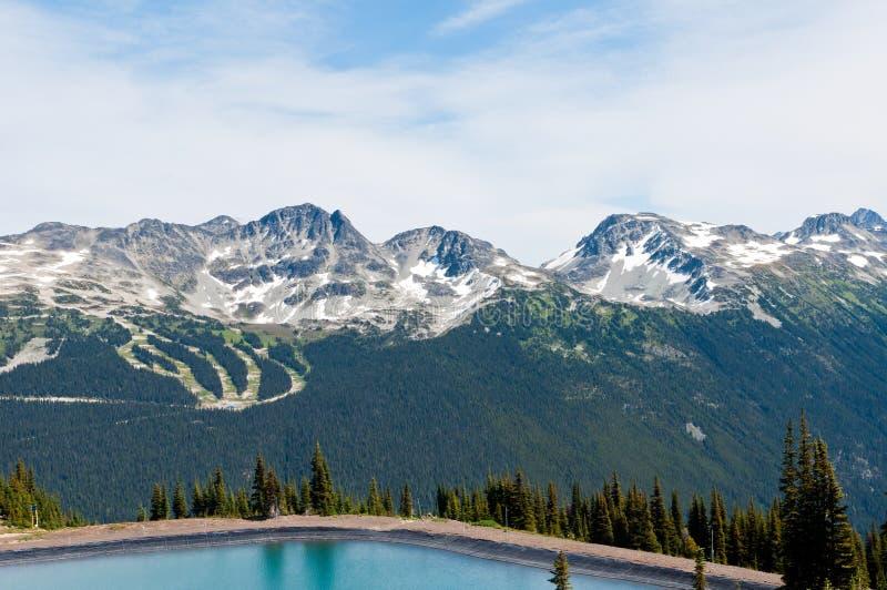 blackcomb βουνό στοκ εικόνες