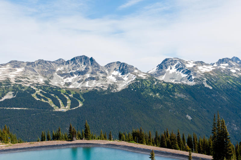 Blackcomb Mountain stock photo