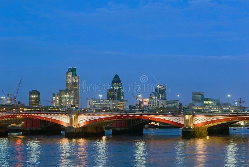 blackfriars γέφυρα στοκ εικόνες
