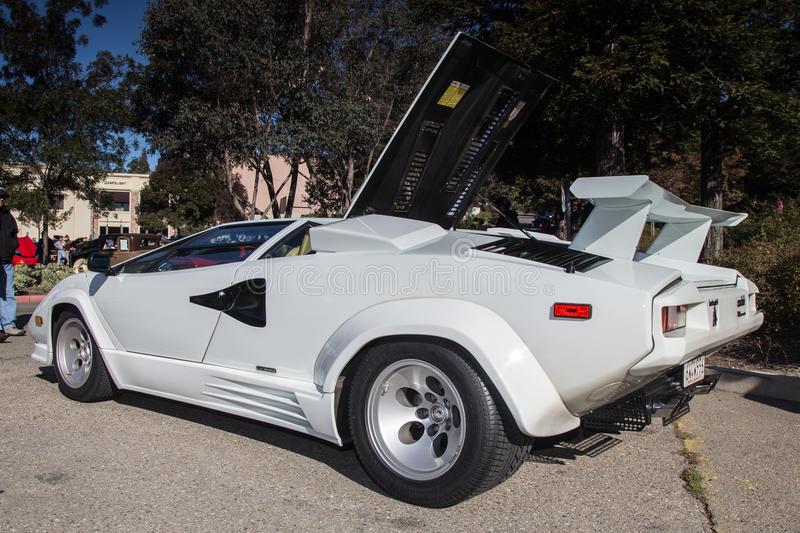 Lamborghini. Blackhawk Cars and Coffee Car Show in Danville Ca all Photos taken by Luigi Dionisio Nov 2 2014 stock photos