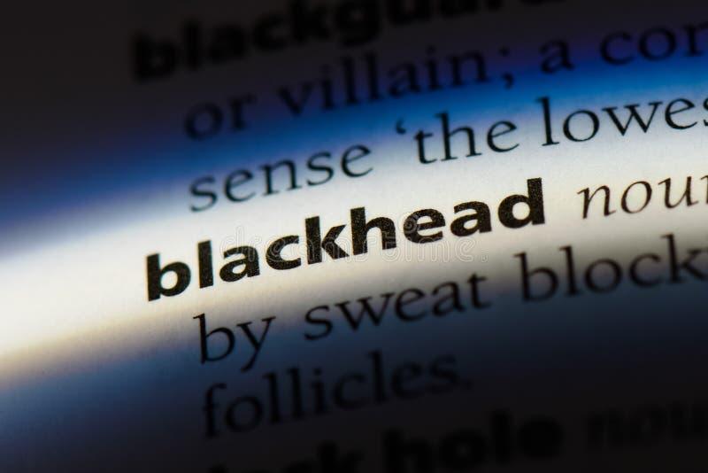 blackhead imágenes de archivo libres de regalías