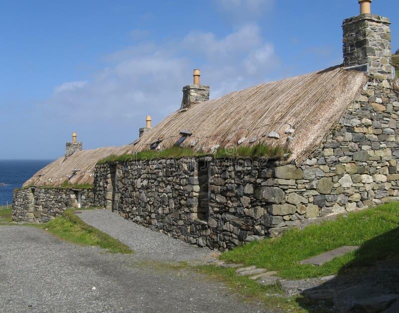 Download Blackhouses photo stock. Image du île, closeries, lewis - 2141300