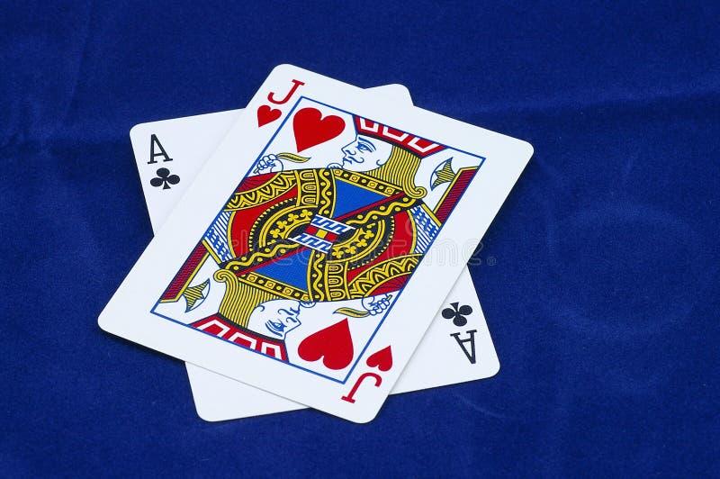 Blackjack! Royalty-vrije Stock Afbeeldingen
