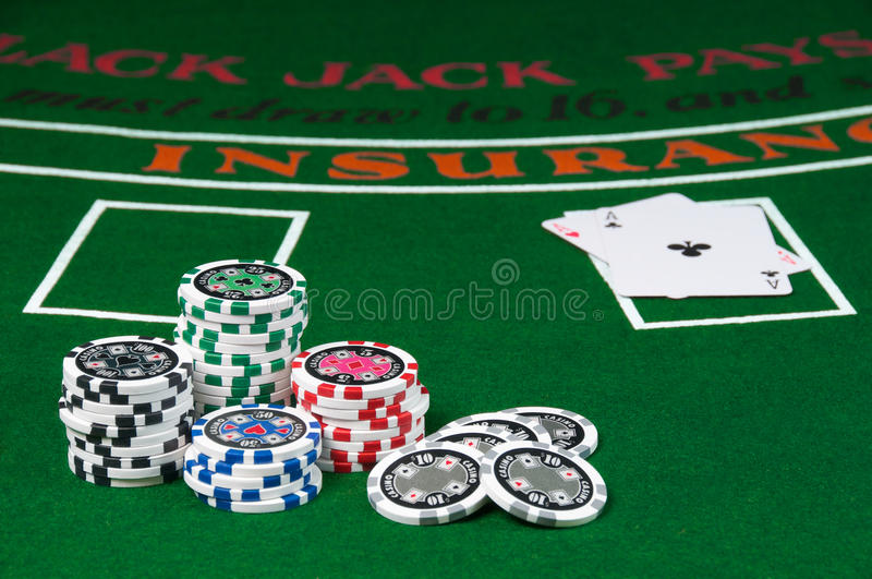 Blackjack foto de stock royalty free