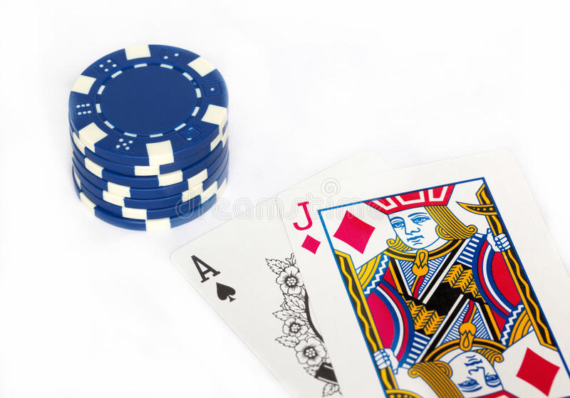 Blackjack foto de stock