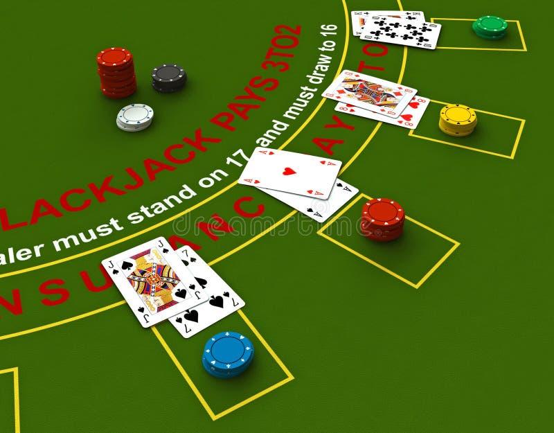 blackjack бесплатная иллюстрация