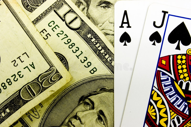 Blackjack stockbild