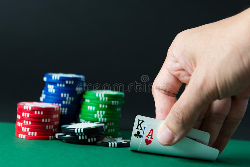 Blackjack images libres de droits