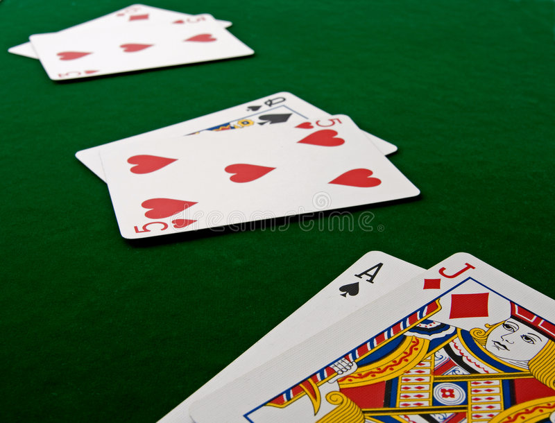 blackjack royaltyfria foton