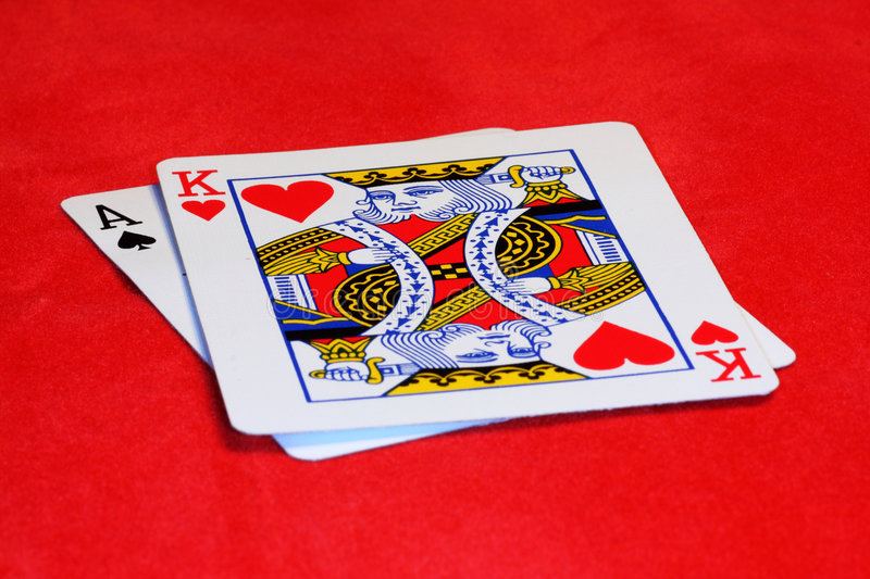 Blackjack imagem de stock royalty free