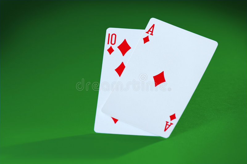 Blackjack! imagem de stock royalty free