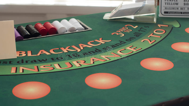 Blackjack 21 fotos de stock