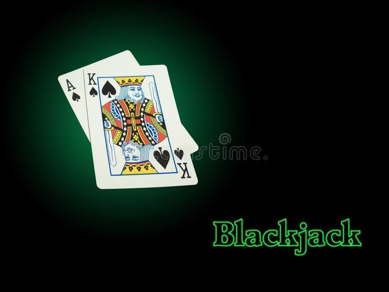 blackjackneon arkivfoton