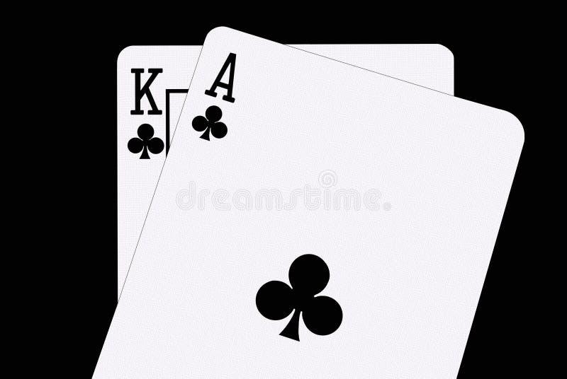 blackjackspadar vektor illustrationer