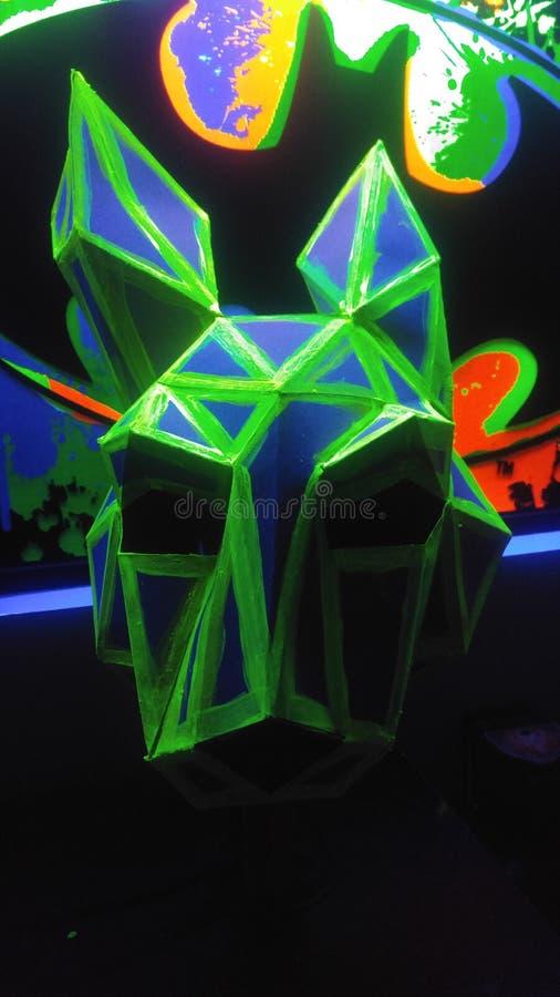 blacklight 3D uv fotografia de stock