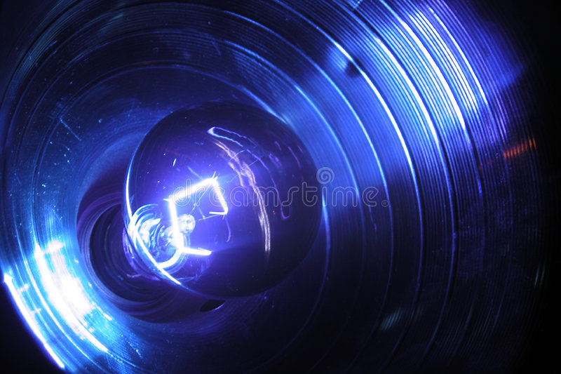 Blacklight und Reflektor lizenzfreies stockfoto