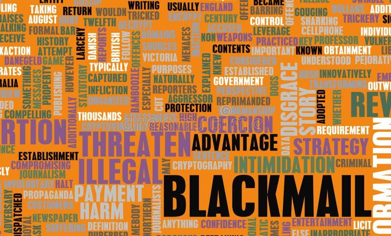Blackmail Stock Photo
