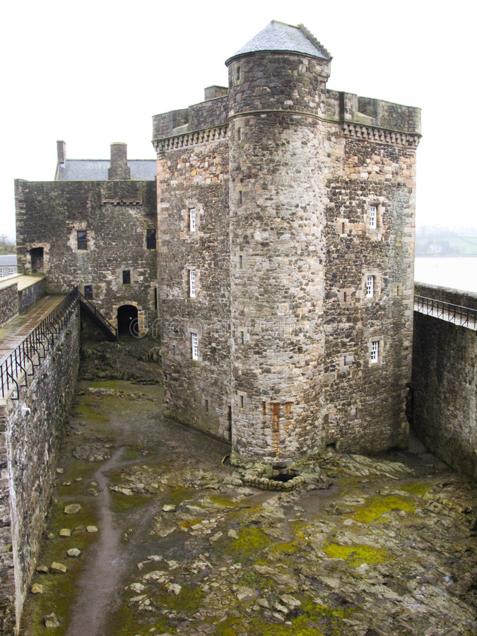Blackness Castle 2. Blackness Castle, near Edinburgh, Scotland royalty free stock photography