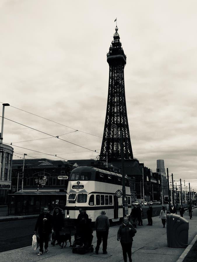 Blackpool 17 foto de archivo libre de regalías
