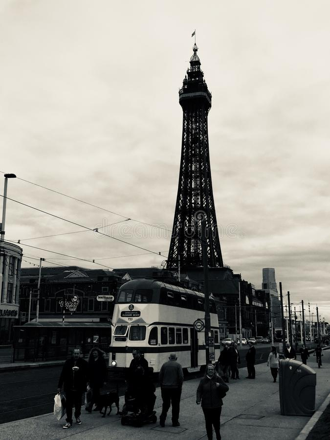 Blackpool 17 lizenzfreies stockfoto