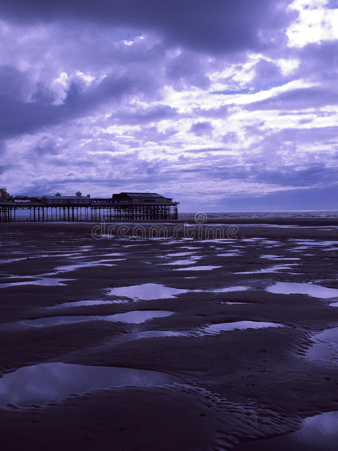 Blackpool Beach Royalty Free Stock Image