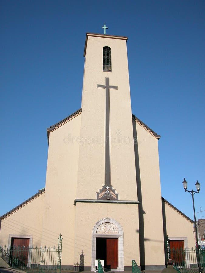 blackpool kyrka arkivbild