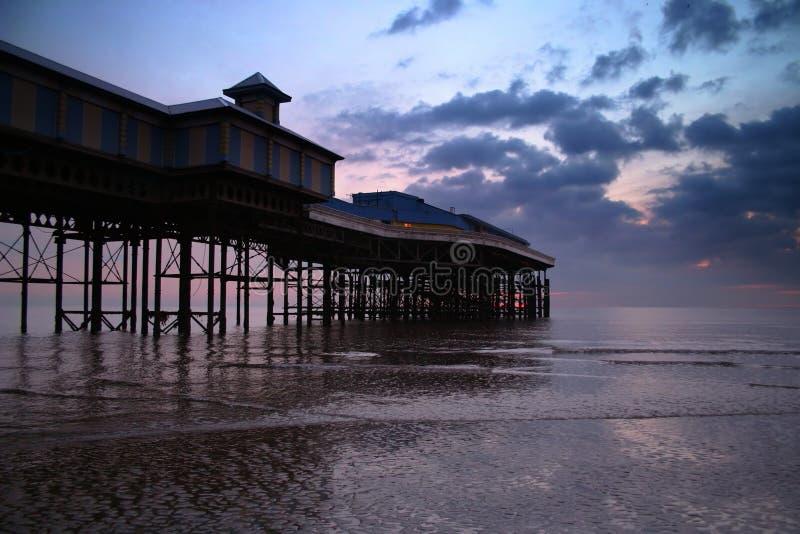 Blackpool pier stock photos