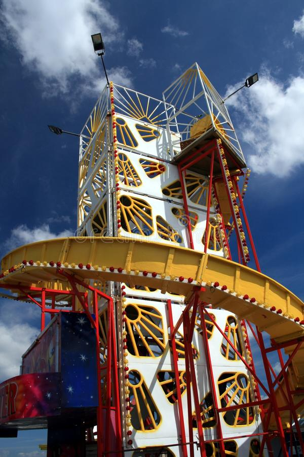 Free Blackpool Pier Helter Skelter Royalty Free Stock Photo - 20341165
