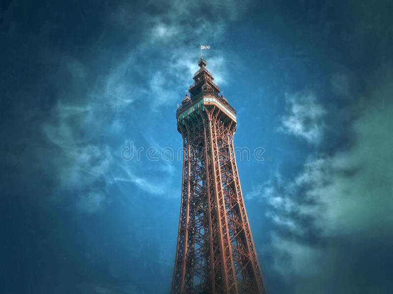 Blackpool stock image