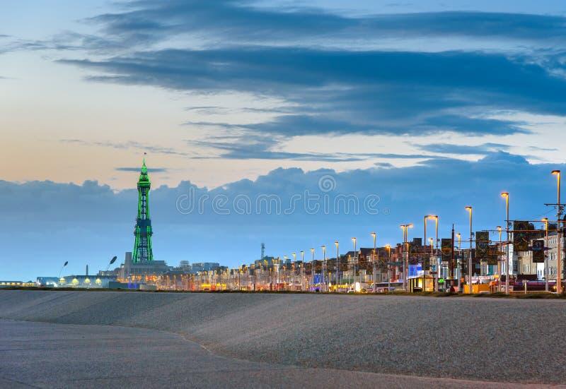 Blackpool Tower, England stock photo