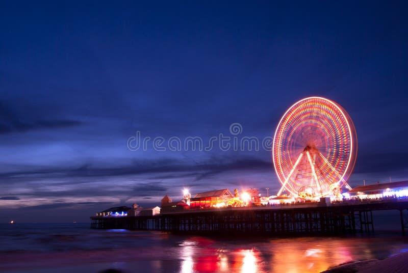 Blackpool wheel stock images