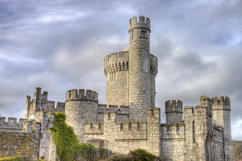 Blackrock castle in Cork city, Ireland.  stock photos