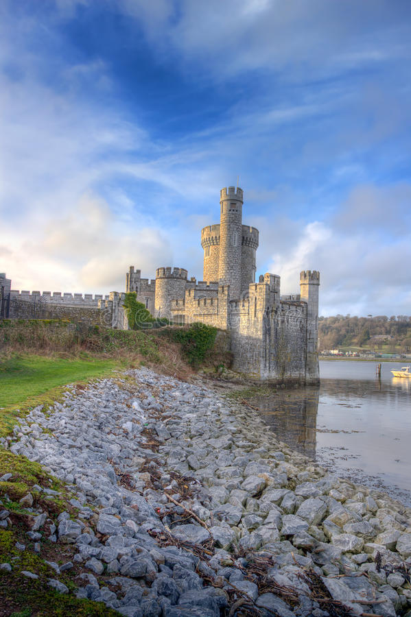 Blackrock Castle in cork city, Ireland. Blackrock Castle on the banks of the river. Cork city, Ireland stock photos