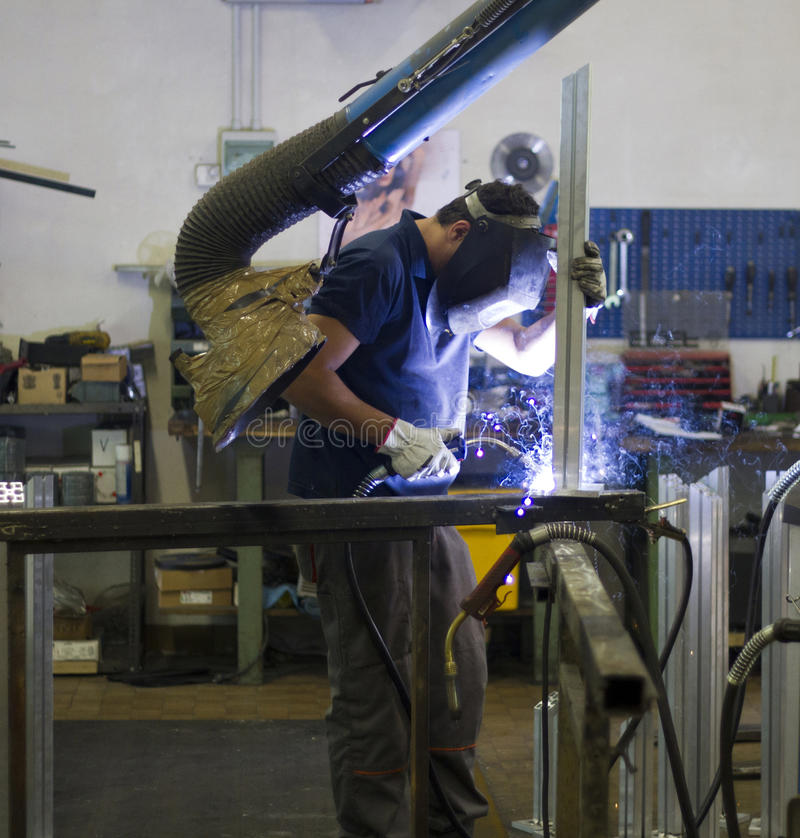 Download Blacksmith stock photo. Image of manufacturing, safety - 16065666