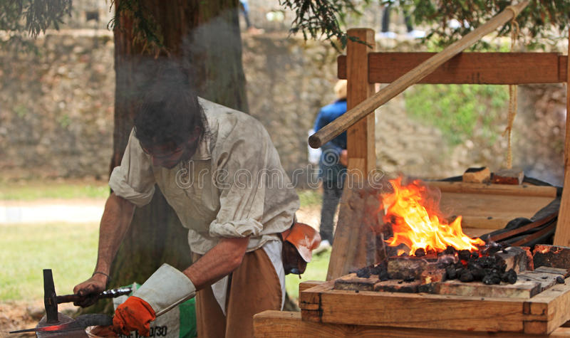 The blacksmith royalty free stock images