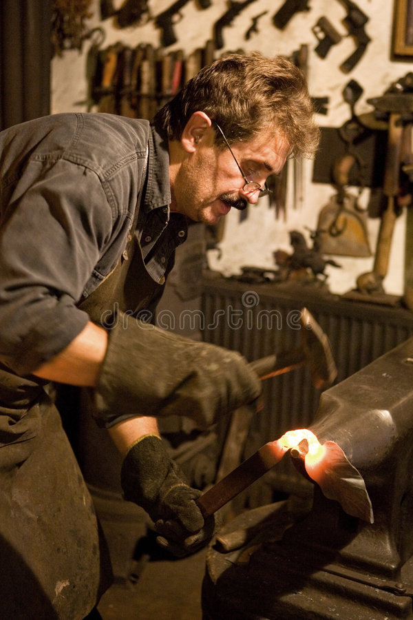 Download Blacksmith stock image. Image of metal, hand, blacksmith - 3045249
