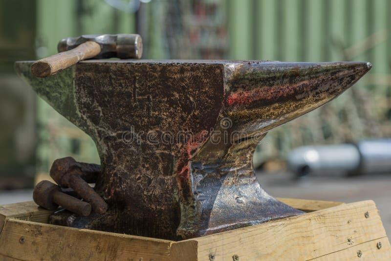 Blacksmith Anvil stock photos